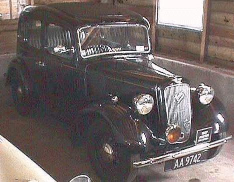 Oldtimer gallery. Cars. Austin.