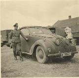 27k WW2 photo of Adler 10, 2-door Cabriolet by Karmann