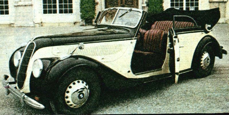 Oldtimer gallery. Cars. BMW 335.