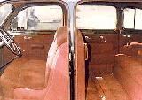 15k photo of 1938 Buick Limited 90L, interior