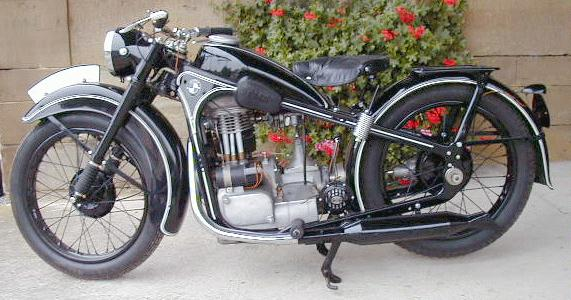 Oldtimer Gallery Motorcycles Bmw R35