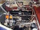 69k photo of 1939 BMW-321 limousine, engine