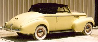 1940 Buick 40 Special Convertible Coupe