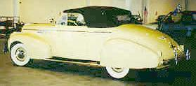 1940 Buick 60 Century Convertible Coupe