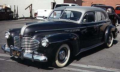Oldtimer gallery cars 1941 buick for 1941 buick 4 door sedan