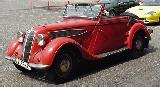 40k photo of 1936 late BMW-329 2+2 cabriolet by Drauz