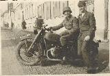 83k 3 III 1941 photo of BMW-R71, Romania