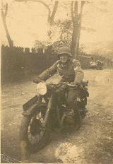79k WW2 photo of BMW-R71, Romania