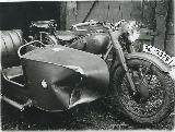 61k WW2 photo of BMW-R61, police plate