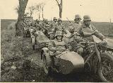 120k WW2 photo of BMW-R12 Wehrmacht gespann