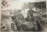 69k WW2 photo of BMW-R12 Wehrmacht gespann