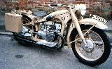 60k WW2 photo of BMW-R12 Wehrmacht solo