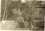 57k WW2 photo of BMW-R12 Wehrmacht gespann, Norway
