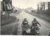 34k WW2 photo of BMW-R12 Wehrmacht gespann
