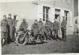31k WW2 photo of BMW-R12 Wehrmacht gespann