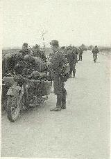 27k WW2 photo of BMW-R12 Wehrmacht gespann