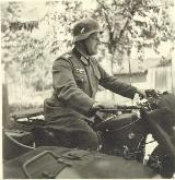 22k WW2 photo of BMW-R12 Wehrmacht gespann