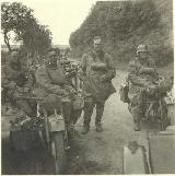 21k WW2 photo of BMW-R12 Wehrmacht gespann