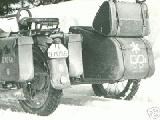22k WW2 photo of BMW-R12, SS-Division Nord
