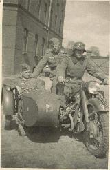 72k WW2 photo of early BMW-R12, 9th company of 25th Infantry Regiment