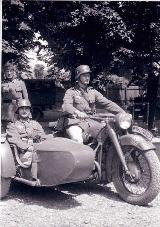 66k WW2 photo of BMW-R12 Wehrmacht gespann