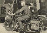 74k WW2 photo of BMW-R12 Wehrmacht gespann, Matford F917WS