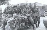49k WW2 photo of BMW-R12 Wehrmacht gespann, South front