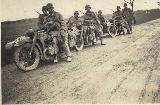 97k WW2 photo of BMW-R12 Wehrmacht gespann