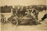 72k 1939 photo of early BMW-R12, Wehrmacht drivers school