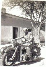 35k WW2 photo of Luftwaffe BMW-R12, Afrikakorps