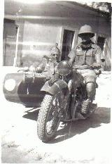 25k WW2 photo of Luftwaffe BMW-R12, Afrikakorps