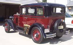 Oldtimer gallery cars 1930 chevrolet for 1930 chevrolet 4 door sedan