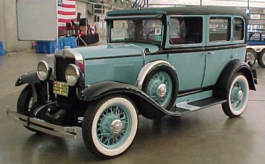 Oldtimer gallery cars 1930 chevrolet for 1930 chevy 4 door