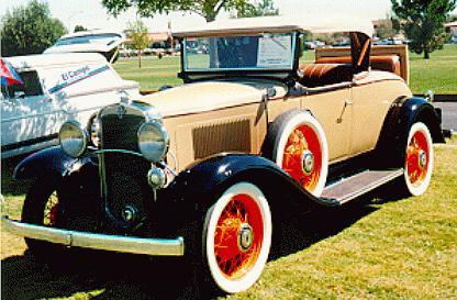 Oldtimer gallery. Cars. 1931 Chevrolet.