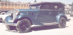 1933 Chevrolet Eagle phaeton of Zaid Asfour