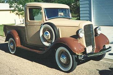 "1939 Chevrolet-JC 1 / 2 -ton Pickup , 113k picture from ""Svet Motoru"