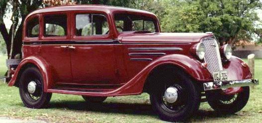 Oldtimer Gallery Cars 1935 Chevrolet
