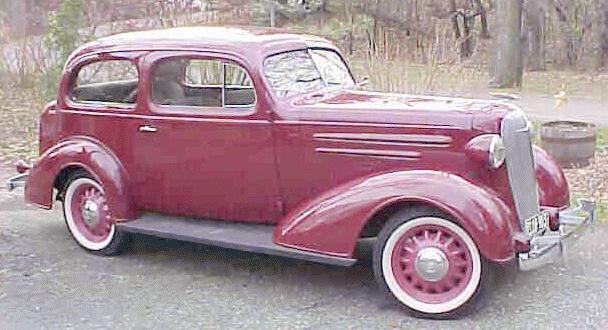 Oldtimer gallery. Cars. 1936 Chevrolet.