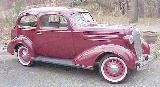44k photo of 1936 Chevrolet 2-door Town (trunkback) Sedan