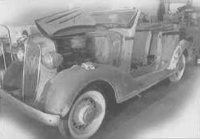 1936 Chevrolet 4-door Convertible Sedan