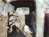49k photo of 1936 Chevrolet cargo truck, cab interior
