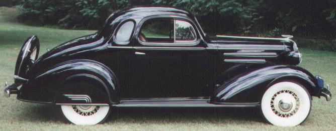 Oldtimer gallery. Cars. 1936 Chevrolet.