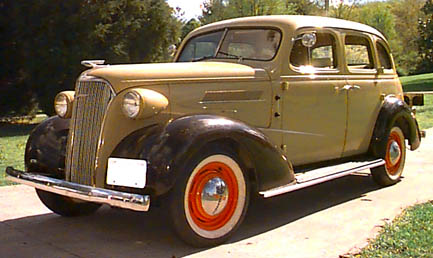 Oldtimer gallery cars 1937 chevrolet for 1937 chevy 4 door sedan