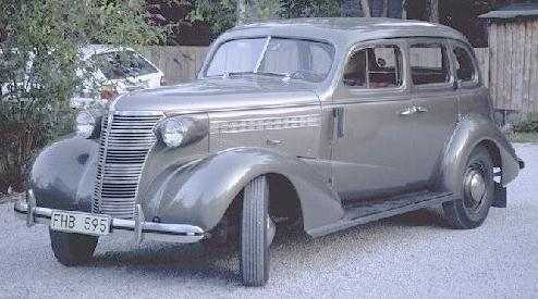 Oldtimer gallery. Cars. 1938 Chevrolet.