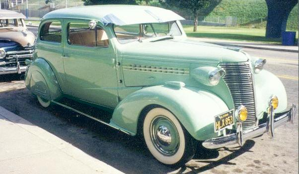 Oldtimer gallery cars 1938 chevrolet for 1938 chevrolet master deluxe 4 door for sale