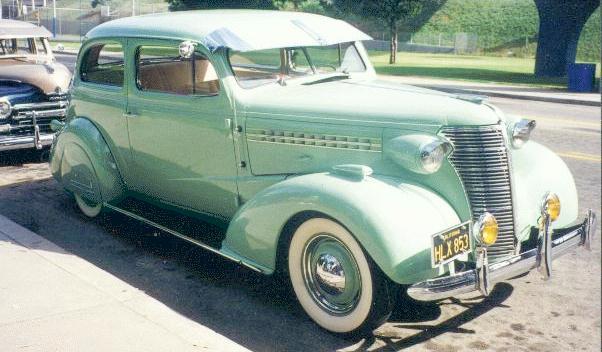 Oldtimer gallery. Cars. 1938 Chevrolet.
