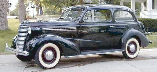 Image gallery 1938 chevy car for 1938 chevy 4 door sedan for sale