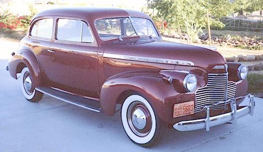 Oldtimer gallery. Cars. 1940 Chevrolet.