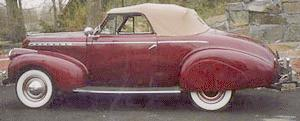 1940 Chevrolet KA convertible coupe