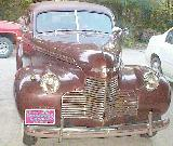 61k photo of 1940 Chevrolet KB 2-door trunkback town sedan of Al Mashburn